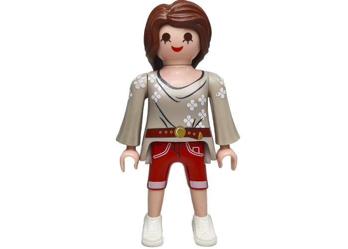 Playmobil Chica City Pelo Largo playmobil
