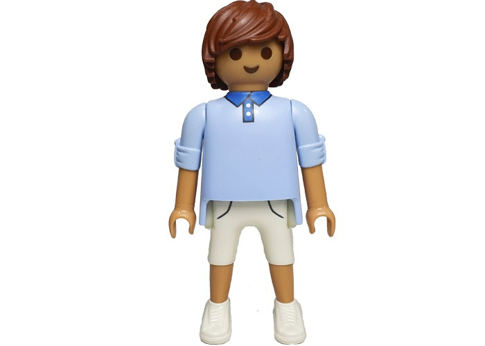 Playmobil Chico Polo Celeste City playmobil