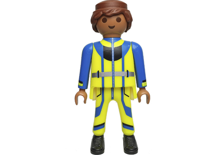 Playmobil Chico Peto amarillo y azul playmobil