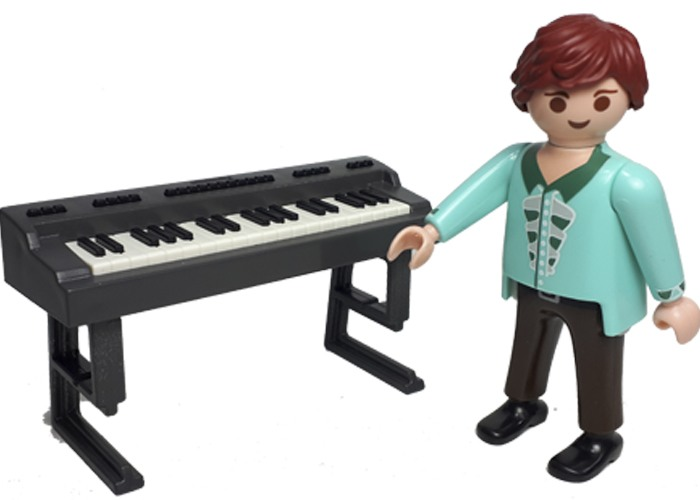Playmobil Chico con teclado playmobil