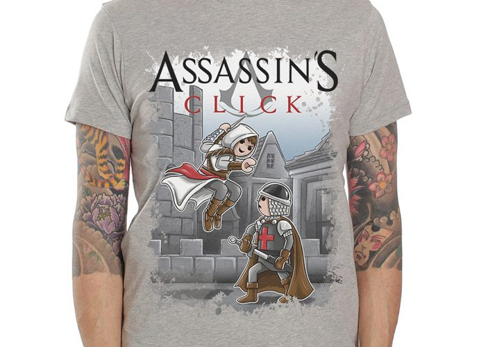 Camiseta Assassin´s Click Talla M playmobil