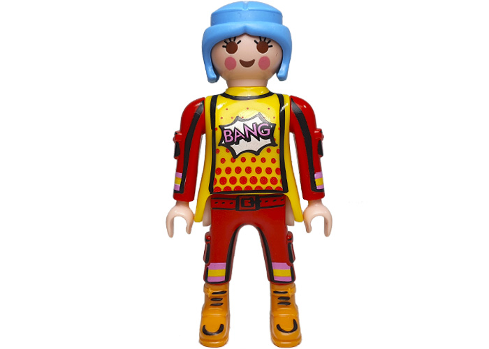 Playmobil ColorFighter Lady Basica playmobil