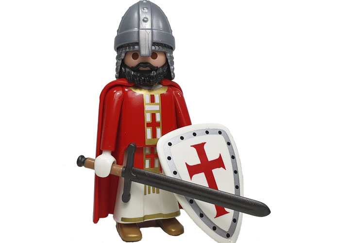 Playmobil Cruzado con mandoble playmobil