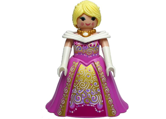 Playmobil Dama Pomposa Rosa playmobil