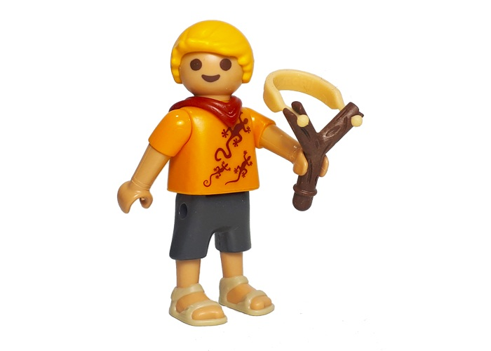 Playmobil Daniel Travieso con Tirachinas playmobil