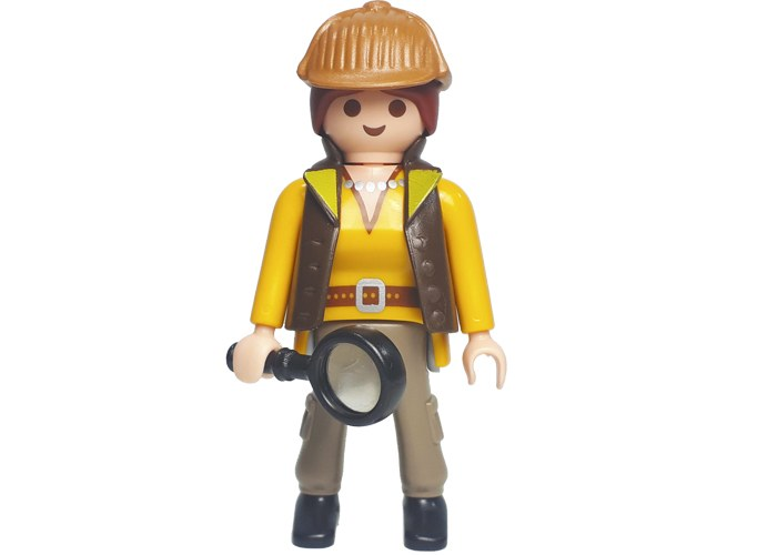 Playmobil Detective Chica Serie 16 playmobil