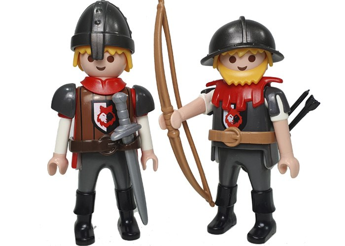 Playmobuil Duo Guardia Baron Rojo playmobil