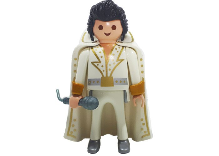 Playmobil Elvis Rey del Rock playmobil