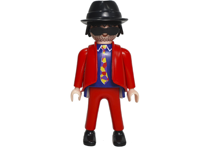 Playmobil Ganster Traje Rojo playmobil