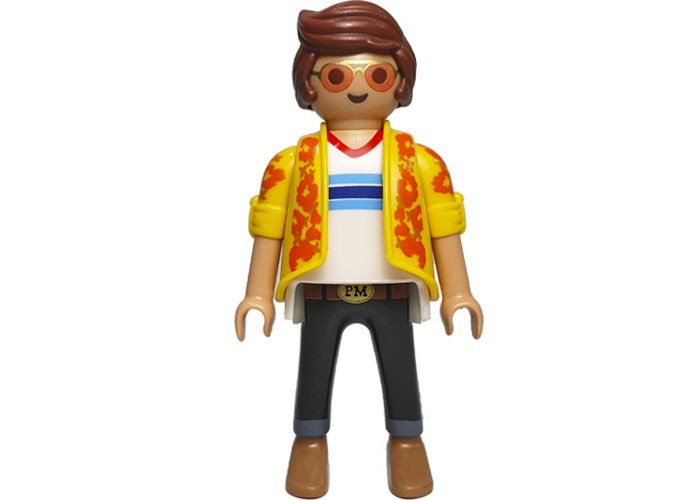 Playmobil Hippie Conductor Escarabajo playmobil