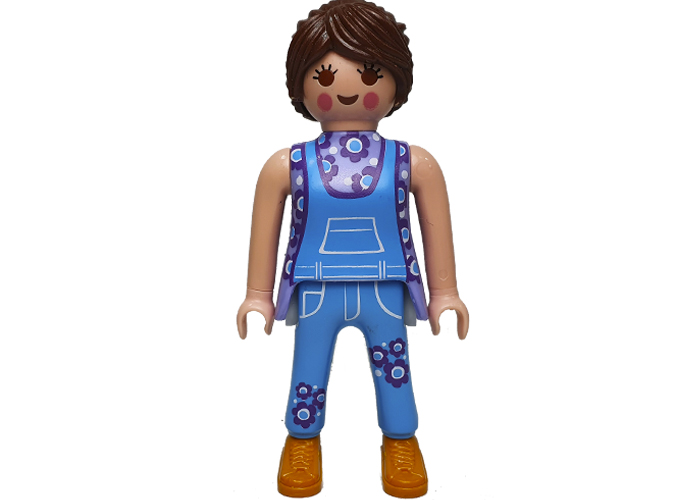 Playmobil Chica Hippie copiloto T1 playmobil