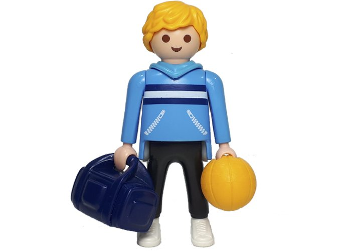 Playmobil Jugador Basket con Balon playmobil
