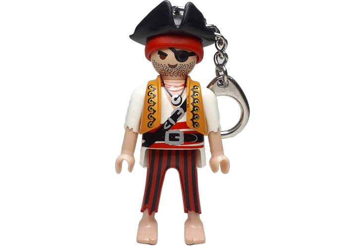 Playmobil Llavero Pirata playmobil