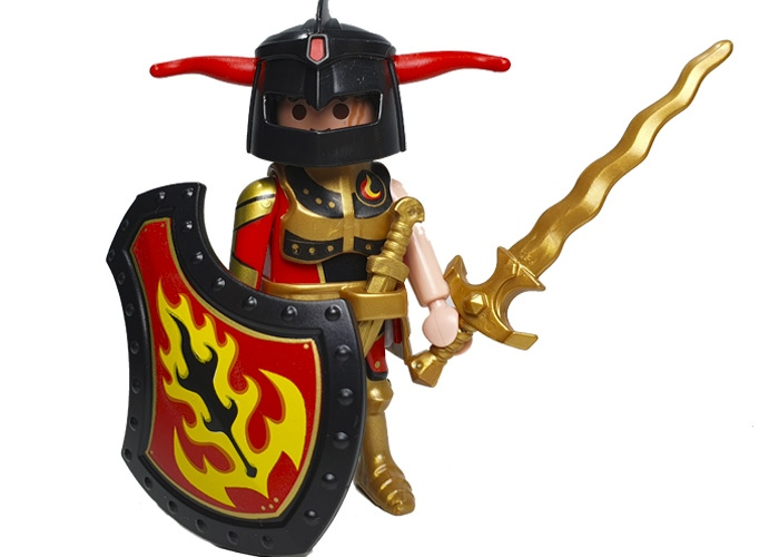 Playmobil General Lucifex Burnham Raiders playmobil