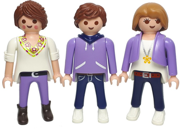 Playmobil Milka Pack Figura City playmobil
