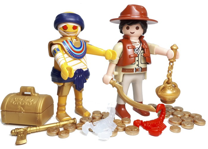 Playmobil Momia y explorador playmobil