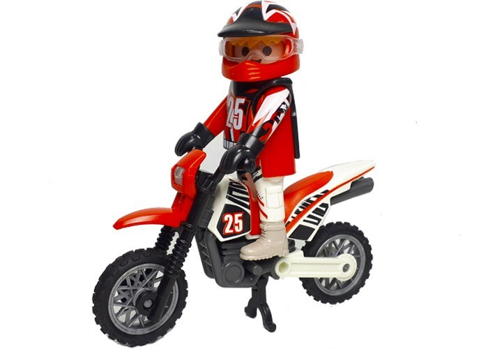 Playmobil Motorista de Motocross playmobil