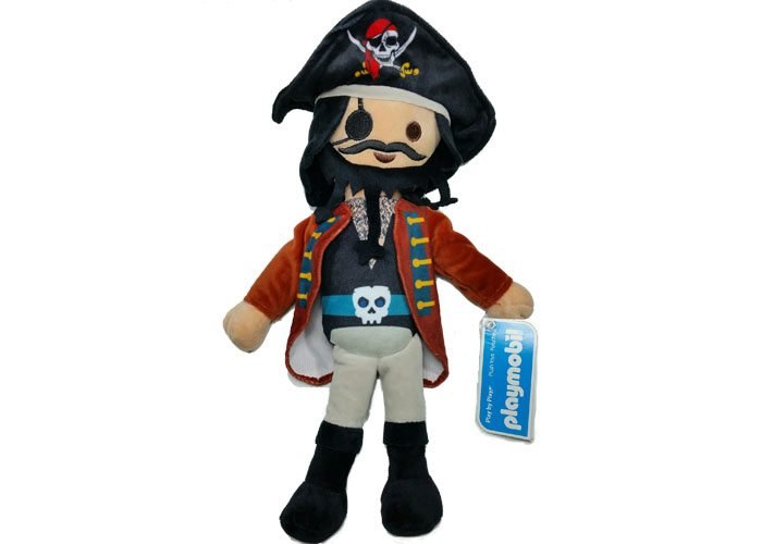 Playmobil Peluche Pirata barbudo 30cm playmobil