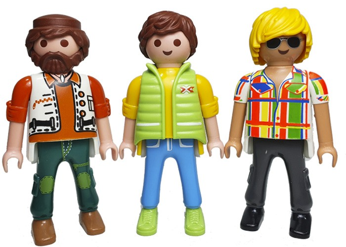 Playmobil Pack Tres Chicos City playmobil