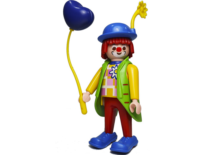 Playmobil Payaso Piticlín con globo playmobil