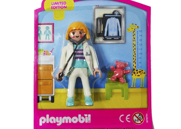 Playmobil Chica Pediatra Blister playmobil