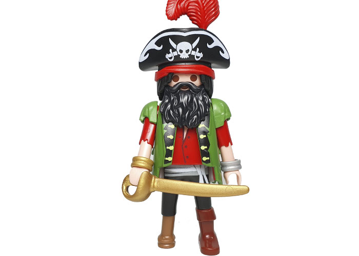 Playmobil Pirata Capitan del C.Adviento playmobil