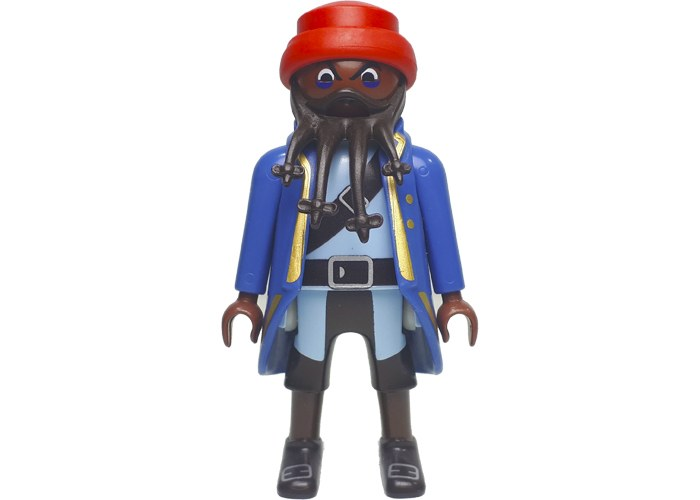 Playmobil Pirata Barba negra basico playmobil
