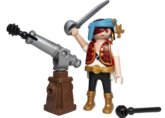 Playmobil Pirata con cañon playmobil