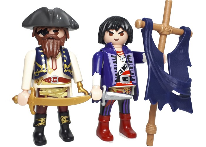 Playmobil Piratas Duo playmobil