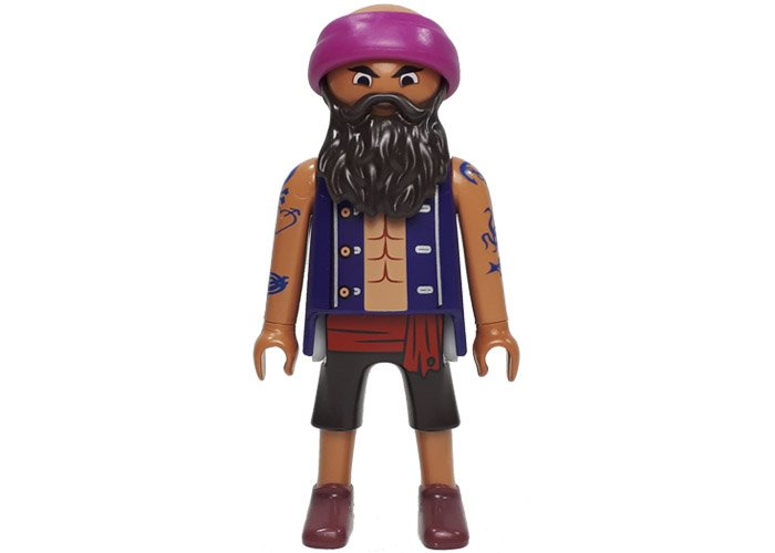 Playmobil Pirata Tatuado The Movie playmobil