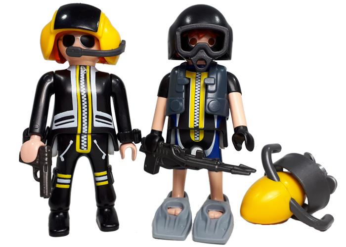 Playmobil Pack Policia Rescate playmobil