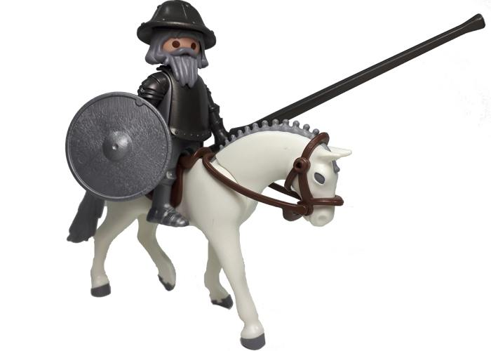 Playmobil Don Quijote y Rocinante playmobil