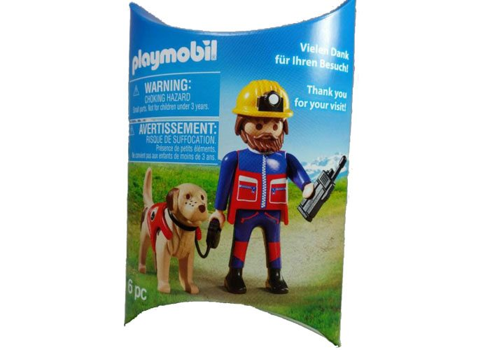 Playmobil Exclusivo Operario rescate playmobil
