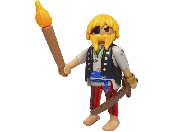 Playmobil Pirata Serie 18 playmobil