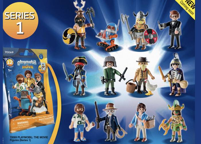Playmobil Serie 1 The Movie Completa playmobil