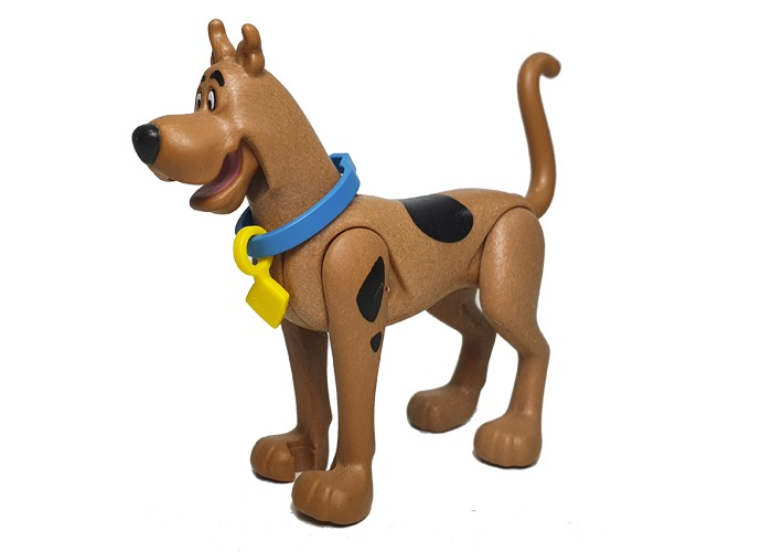Playmobil Perro Scooby Doo con collar playmobil