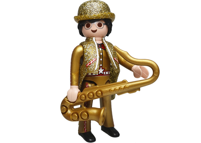 Playmobil Sir talk Alone con Saxofon playmobil
