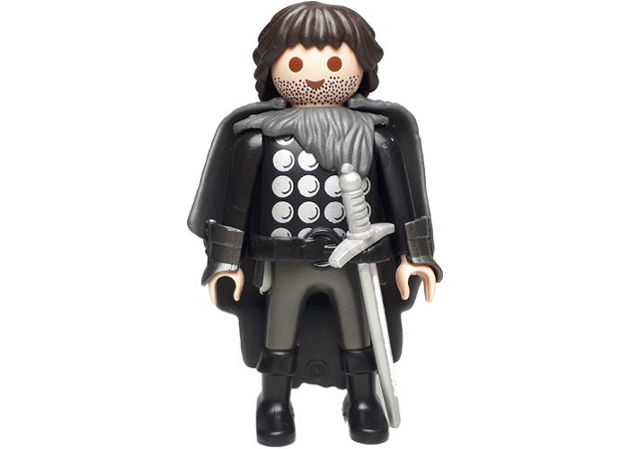 Playmobil John Snow Custom playmobil