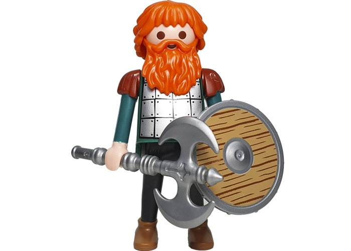 Playmobil Vikingo barba roja playmobil